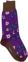 Marni floral print ankle socks