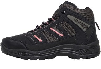 Board Angels Womens Hiker Boots Black/Pink