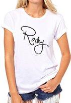 ANGRYDEER Original Rocky Sign Rocky Balboa Quality Womens T-Shirt