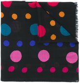 Paul Smith dotted pattern scarf