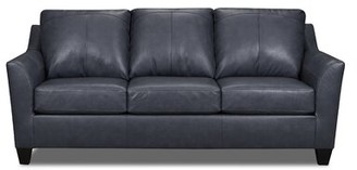 Red Barrel Studio Thy Leather Sofa Bed Upholstery Color: Palermo Shale