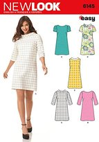 "Simplicity 6145 Size A 8/10/12/14/16/18 ""Misses' Dresses"" New Look Sewing Pattern"