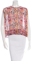 IRO Oroya Printed Top w/ Tags