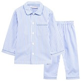 Rachel Riley Blue and White Stripe Pyjamas