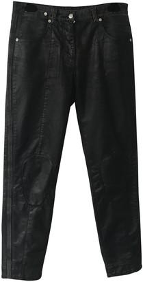 Louis Vuitton Black Cotton - elasthane Jeans
