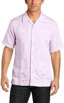 Cubavera Cuba Vera Men's Short Sleeve Guayabera Shirt