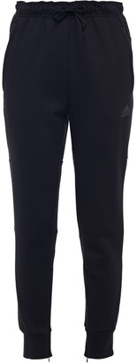 adidas Printed Cotton-blend Jersey Track Pants