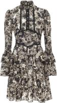 Anna Sui Clipped Lurex Jacquard Dress