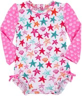 Hatley Baby Rash Guard-Starfish-3-6M