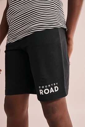 Country Road Teen Recycled Cotton Raglan Stripe Pyjama Set