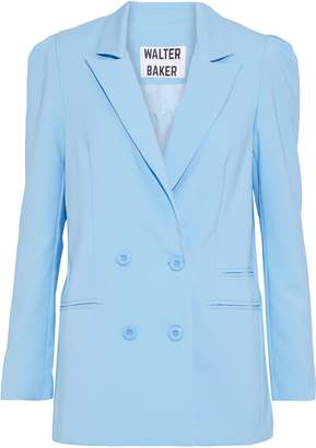 Walter W118 By Baker Double-breasted Cady Blazer