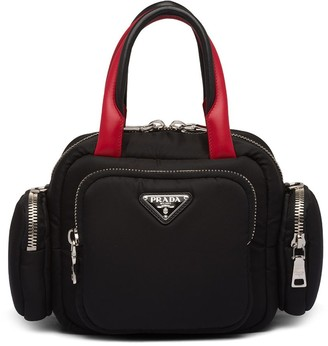 Prada Padded Zipped Tote Bag