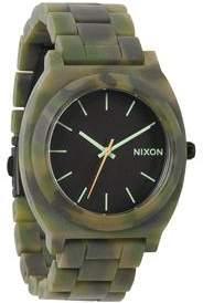 Nixon THE TIME TELLER ACETATE MATTE BLK/CAMO