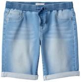 SO Girls 7-16 & Plus Size SO® Ribbed Waist Bermuda Jean Shorts