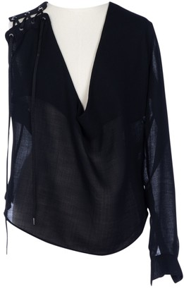 Anthony Vaccarello Black Top for Women
