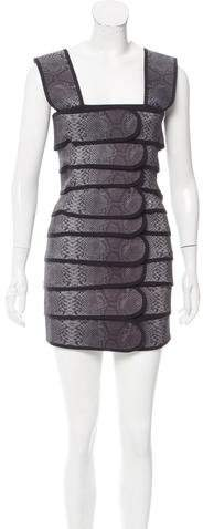 Christopher Kane Cinch Mini Dress w/ Tags