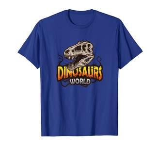 Fossil Dinosaur Roar Tee Shirts Dinosaur World T-Rex Jurassic Palaeontology Gift T-Shirt