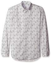 Bill Tornade BILLTORNADE Men's Camille Tailored Fit Printed Shirt