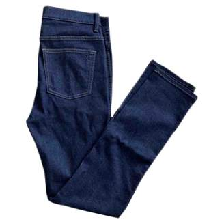 Tory Burch Navy Cotton Jeans for Women