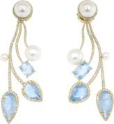 IRENE NEUWIRTH JEWELRY One Of A Kind Aquamarine Earrings