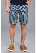 U.S. Polo Assn. Flat Front Small Plaid Short