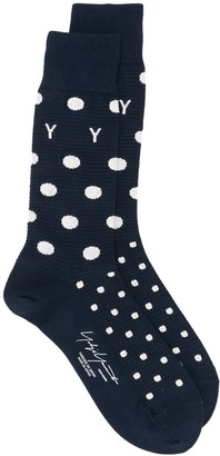 Yohji Yamamoto Polka Dot Socks