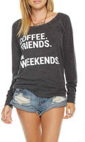 Chaser Coffee Friends Pullover