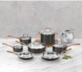 Cuisinart Onyx Black & Rose Gold 12-Pc Stainless Steel Cookware Set, A Macy's Exclusive Style