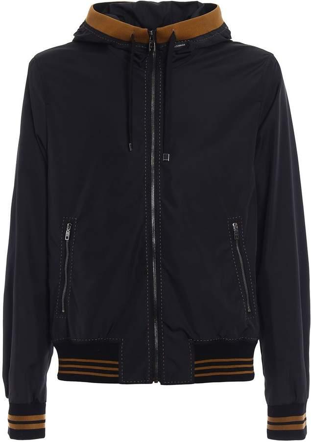 Dolce & Gabbana Full Zip Nylon Jacket