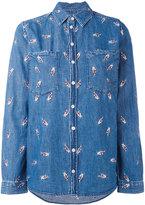 Zoe Karssen Fingers Crossed shirt - women - Cotton - L