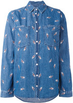 Zoe Karssen Fingers Crossed shirt - women - Cotton - M