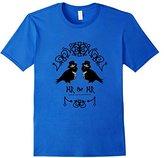 Men's Cute Gay Grooms Love Birds Mr & Mr Wedding T-Shirt Medium