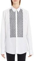 Dolce & Gabbana Women's Poplin Tuxedo Shirt