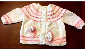 Love's Hangover Creations Hand-Knitted Baby Cardigan