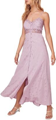 ASTR the Label Dreamcatcher Floral Jacquard Maxi Dress