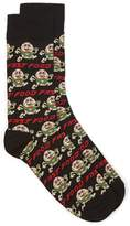 Topman Black Fast Food Socks
