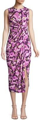 Jason Wu Collection Sleeveless Floral Jersey Day Dress