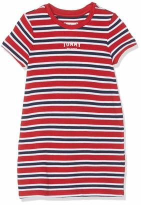 Tommy Hilfiger Girl's Multi Stripe Knit Dress S/s