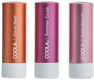 Coola Mineral Liplux SPF 30 Organic Tinted Trio