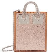 Sophie Hulme Compton Glitter Perspex Bag