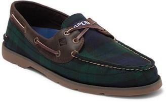 Sperry Leeward 2-Eyelet Cross Lace Boat Shoe