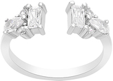 Bliss Cubic Zirconia & Sterling Silver Open Ring