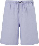 Polo Ralph Lauren Oxford Cotton Sleep Shorts, Blue