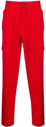 Comme des Garcons straight-leg cargo trousers
