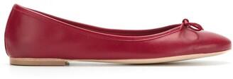 Sarah Chofakian Sarita leather ballerina shoes