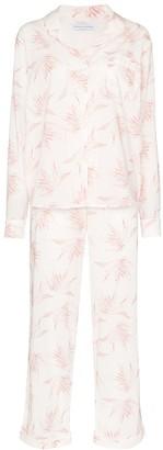 Desmond & Dempsey Deia cotton pyjama set