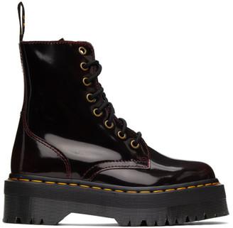 Dr. Martens Burgundy Jadon Arcadia Boots