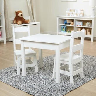 Melissa & Doug Kids 3 Piece Writing Table and Chair Set