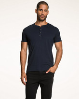 Le Château Cotton Blend Henley Top