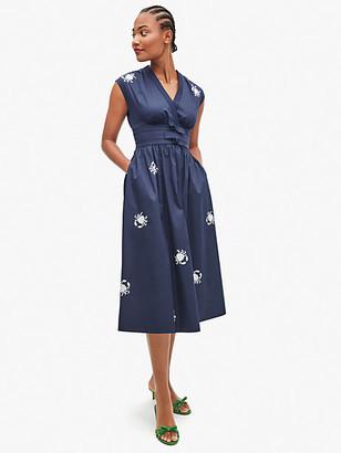 Kate Spade Snappy Poplin Bow Dress